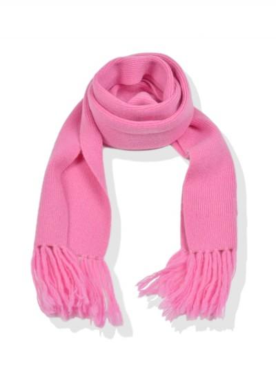 Cashmere junior scarf - Lollie pink