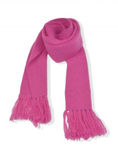 Cashmere junior scarf - lily pink