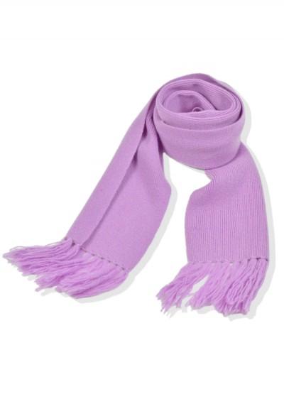 Cashmere junior scarf - lavender