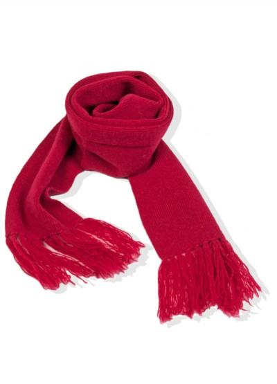 Cashmere junior scarf - Rouge