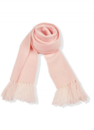 Cashmere junior scarf - blush