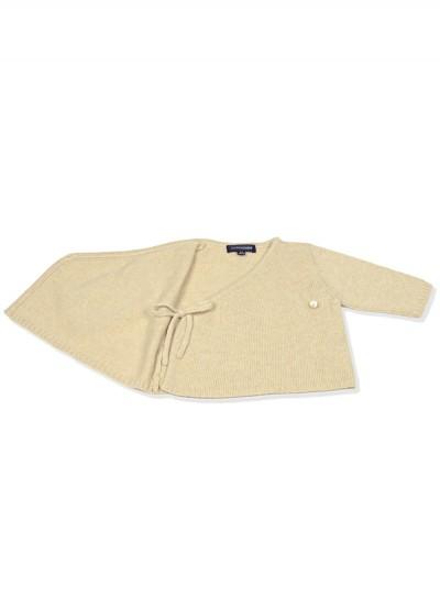 Cashmere cotton blend cardi