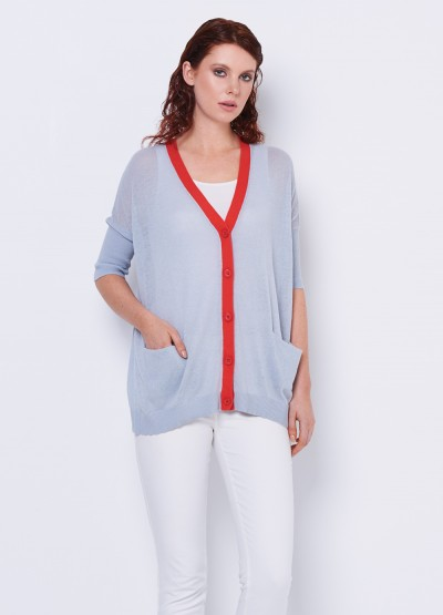 Loose fit summer cadigan in colour - 30% Off