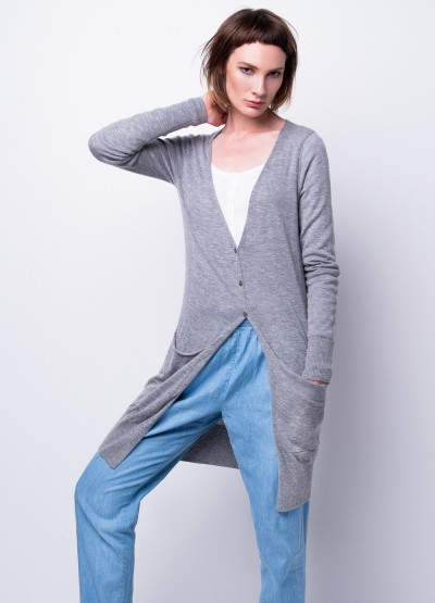 Cashmere breeze long cardi