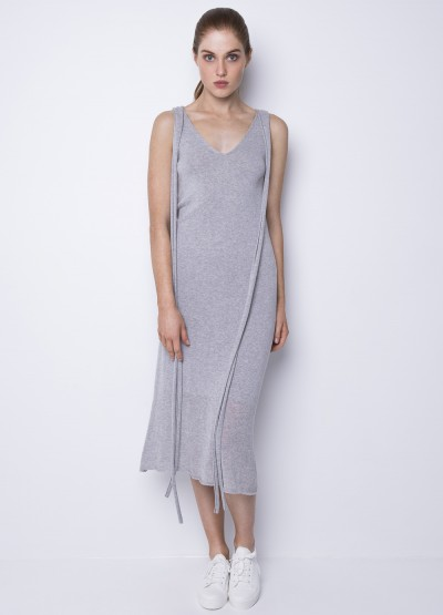 Summer breeze maxi dress - light grey