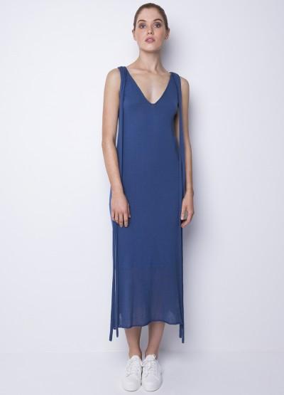 Summer breeze maxi dress - Powder blue - 40% Off