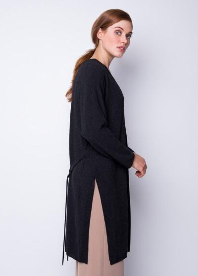Split side freedom dress - Black