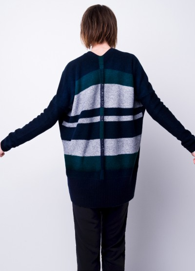 Open front cashmere long cardi -25% Off