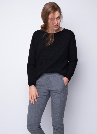Corn knit loose fit pullover